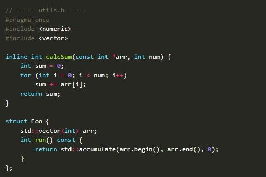 C++ code_bloat
