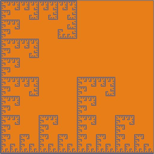 LEDAS fractals